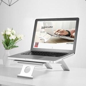 Image 3 - M2/Z2/H2 Silber Aluminium Laptop Stand Tablet Universal für Apple MacBook Air Pro 11 15 zoll folding Einstellbare Büro Notebook