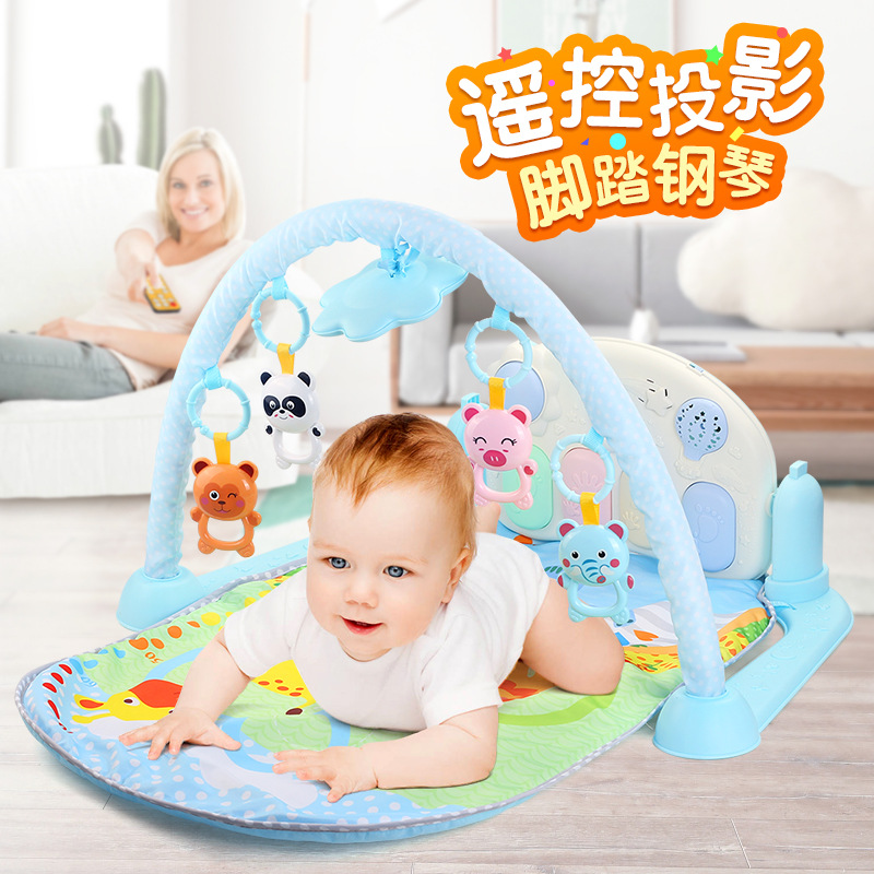 Small Baize, Infant Harmonium 0-36 Months Early Education BABY'S Educational Mobile Baby Pedal Remote Control Music Piano