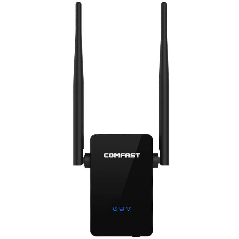COMFAST-WR302S WIFI Router Repeater 300Mbps External Signal Repeater 2* 5dBi Antenna WiFi Amplifier Extender Booster EU Plug