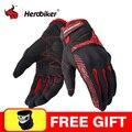 Мотоциклетные Перчатки HEROBIKER  мотоциклетные перчатки Gant  с сенсорным экраном  перчатки для мотокросса  дышащие перчатки для гоночной езды  м...