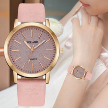 New Women Watch Luxury Brand Simplicity Dial Fashion Leather