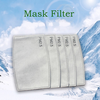 10/20/30/50/100 pcs/Lot PM2.5 Filter paper Anti Haze mouth Mask anti dust mask Filter paper Health Care
