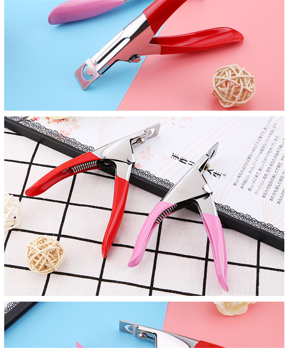 Beauty nail art nail clippers nail clippers U-shaped scissors tool factory direct PANTUILONG mini series
