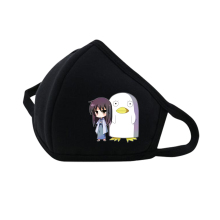 Japan anime Gintama Mouth Face Mask Dustproof Breathable Protective Cover Masks Reusable Respiratory Care mask