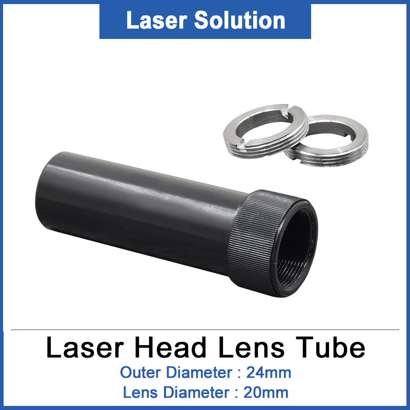 DRAGON DIAMOND CO2 Lens Tube For Lens D20 50.8/63.5mm For CO2 Laser Head Cutting Machine