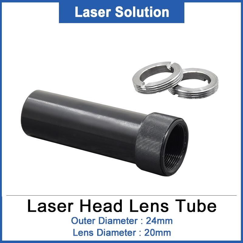 DRAGON DIAMOND CO2 Lens Tube For Lens D20 50.8/63.5mm For CO2 Laser Head Cutting Machine