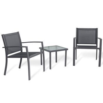 Muebles de jardín 2 sillones y mesa de centro