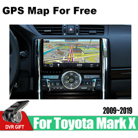 ZaiXi car gps multimedia player For Toyota Mark X 2009~2019 car Android navigation raido video audio player stereo audio wifi