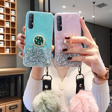 Glitter Bling Sequins Phone Cases For Samsung Note 10 Lite 8 9 M10 M20 M30 M40 S10e S8 S9 Plus S20 Ultra Soft Epoxy Clear Cover lavaza fashion girl silicone case for samsung s6 edge s7 s8 plus s9 s10 s10e note 8 9 10 m10 m20 m30 m40