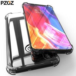 PZOZ for xiaomi mi 9t pro mi cc 9 se 8 6 Max3 mi A1 A3 A2 lite case Mix2 Mix2S pocophone f1 case cove Redmi 7A note 6 5 plus pro(China)