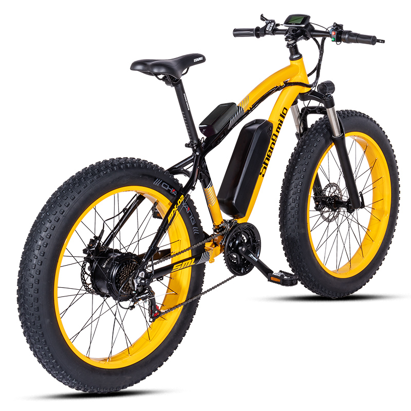 Electric bike ebike 48V1000W electric mountain bike 4.0 fat tire Electric Bicycle beach E-bike electric electric motorcycle 2