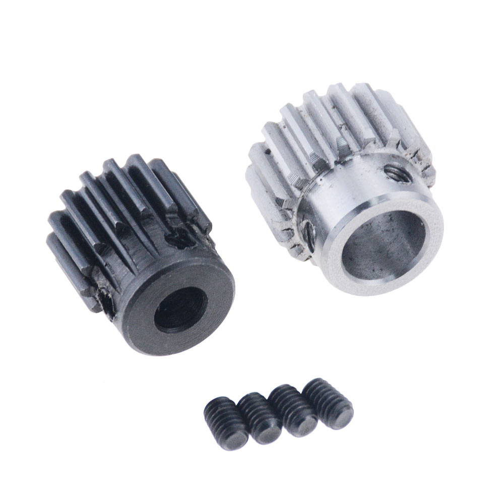 1pc 1Mod 1 Modulus Gear the rack Gear pinion 1Mod 15T 18T Motor Pinion Gears Bore 6/8/10mm 45 steel cnc gear