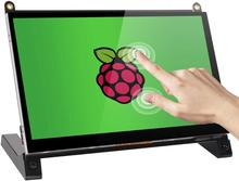 Raspberry Pi Touchscreen Monitor 7'' Touch Screen with HD Display IPS 1024x600 for Raspberry Pi 4 3 2 Zero B+