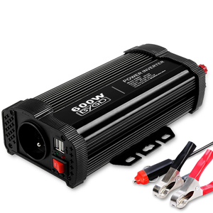 BYGD Power Inverter 600W 12V DC to 220V-
