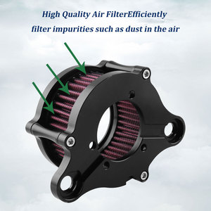 Image 4 - Motorcycle Air Filter Air Cleaner Kit CNC Intake System For Harley Sportster XL 883 XL1200 1992 1993 2016