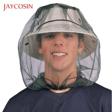 JAYCOSIN Men Women Outdoor Safari Hat Net Mesh Protection From Insect Bee Mosquito Gnats Sleeve Net Cap Fisherman's Hat(China)