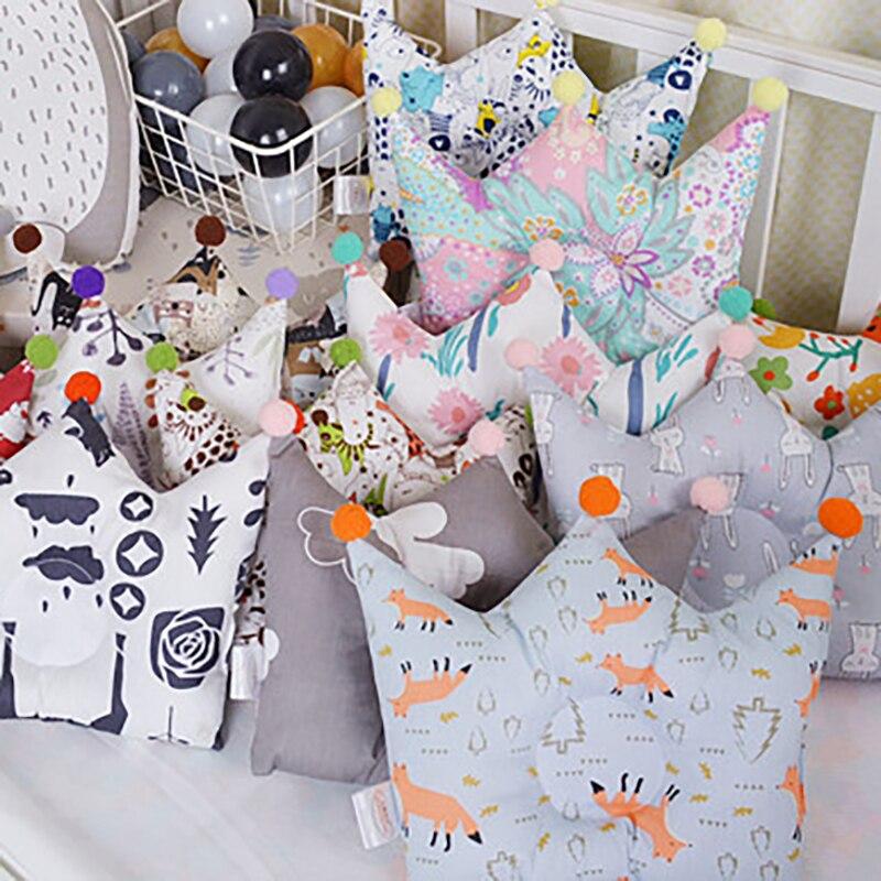 Baby Head Pillows Bedding Pillows Flat Head Infants  For Children Boy Girl Star Toddler Pillow