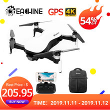 Eachine EX4 5G WIFI 1,2 KM FPV GPS con 4K cámara estable de 3 ejes cardán 25 minutos tiempo de vuelo RC Drone Quadcopter RTF VS X12(China)