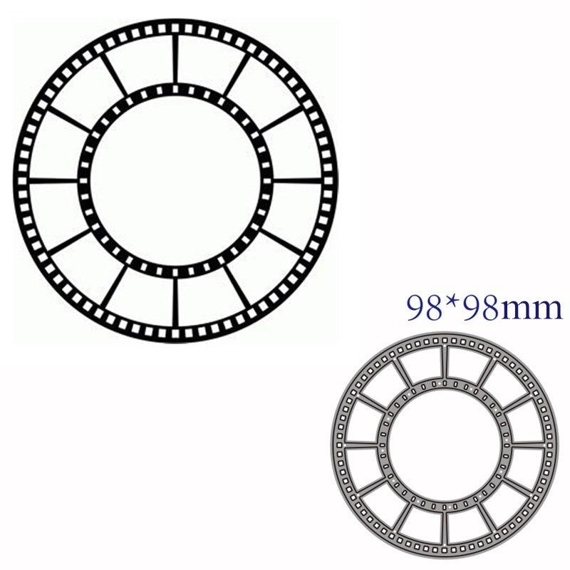 Металлические штампы для резки штампованная форма для декора пленки для скрапбукинга бумаги рукоделия Нож Форма лезвие штамп трафареты