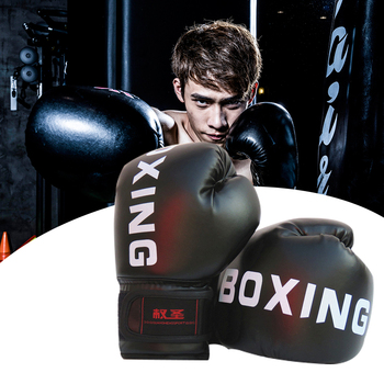 Kick Boxing Gloves For Men Women Sanda Taekwondo Boxing Gloves Karate Muay Thai Free Fight Sanda Training Kids Equipment wesing boxing robe soft boxing cloak kick men women boxing dry robe clothing boxing uniforms bata boxeo robe