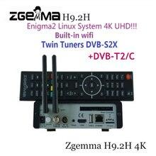 2020 הכי חדש UHD 4K ZGEMMA H9.2H DVB S2/ DVB C/T2 H.265 Enigma2 לינוקס 4.1 מערכת DVB מפענח מקלט עם אולטרה מהיר Quad core