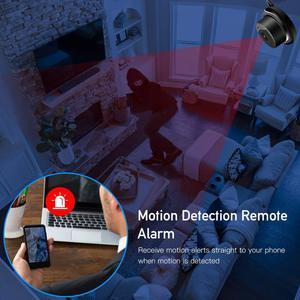 Image 5 - Tigenkey ワイヤレスミニ無線 LAN 720 1080P IP カメラクラウドストレージ赤外線ナイトビジョンスマートホームセキュリティベビーモニターモーション検出