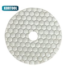 Dry Diamond Polishing Pads 7 Steps Pressed For Granite,Marble Engineered Stone And Concrete 3Inch 4Inch 5Inch