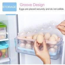 Кухонный холодильник коробка для яиц коробка для хранения практичная креативная домашняя портативная пластиковая коробка для хранения еды для пикника