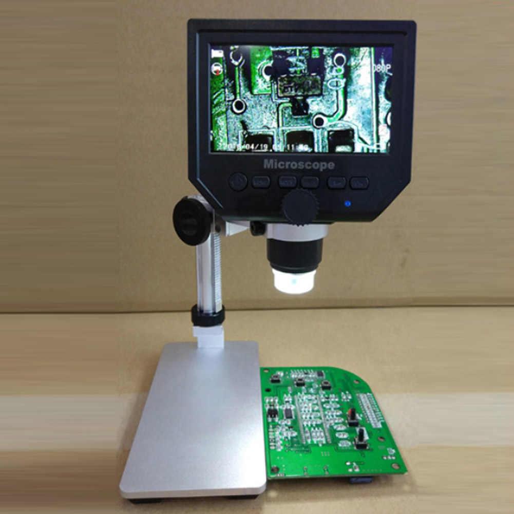 """Цифровой электронный микроскоп DM4 4,3 """"ЖК-дисплей микроскоп vga с светодиодная подставка для печатной платы ремонтная Лупа A29"""