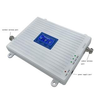 Image 5 - Усилитель трехполосного сигнала VOTK 2G 4G 900 1800 2600 МГц, мобильный телефон, GSM репитер с внутренней антенной, 2019