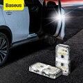 Baseus 2Pcs 6 LEDs Auto Openning Tür Warnung Licht Sicherheit Anti-kollision Flash Lichter Drahtlose Magnetische Signal Lampe
