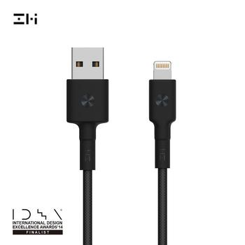 ZMI 1m 2m 0.3m For Lightning MFi Certified, PP Braided Sleeve magnetic For iPhone+Ipad Data Cable Charging Apple Cable Charge