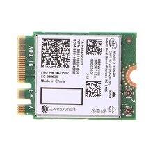 Для In-tel Dual Band Bluetooth Wireless-AC 3165 BT4.0 2,4G/5G 433M NGFF NGW Card X6HA