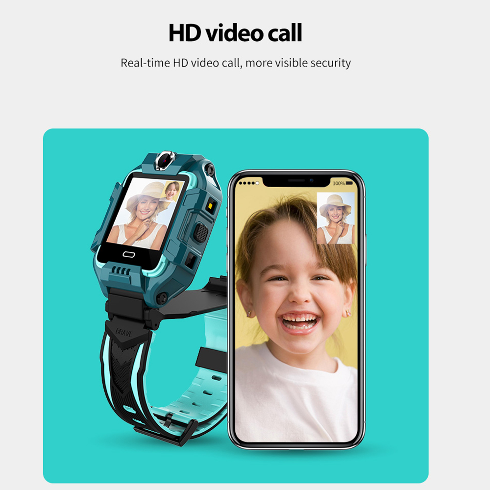 cheapest LEMFO Y99 4G Smart Watch Kids Dual Camera Support HD Video Call GPS Wifi LBS Children Smartwatch For Android IOS Phone Watch