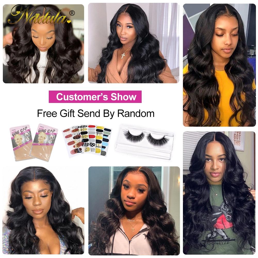 Nadula Hair 5x5 HD Lace Closure  Body Wave Hair Lace Closure 12-20INCH  Closure Pre plucked Swiss Lace 6