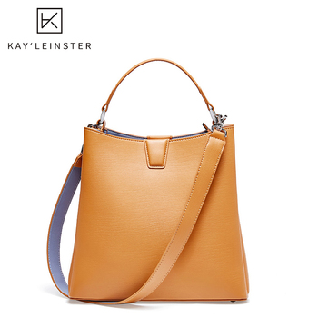 Genuine Leather women Crossbody Bag Women Luxury Bag Handbag Female Shoulder Bag Simple Bucket Tote Bag Large Capacity bolsas