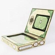 Máquina de aprendizaje electrónica árabe Holy Quran, tableta musulmana del Corán Surah, almohadilla de juguete, juguetes educativos, regalo para niños