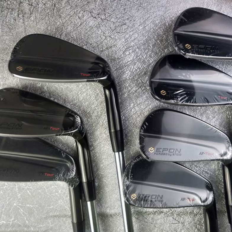 E-PON TOUR MB Golf Clubs Irons Black Golf Forged Iron 4-P A Set Of 7 Pieces R / S With Head Cover Free Shipping