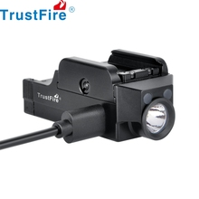 Trustfire GM21 Tactical Pistol Flashlight USB Rechargeable Weapon Light Powerful Gun Weaponlight Hunting self defense weapons