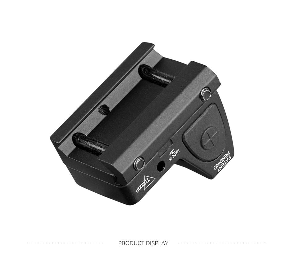 Base Glock Revólver Mira Reflex Scope fit