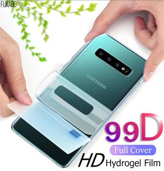 Folia hydrożelowa 99D przednia i tylna do Samsung Galaxy A50 A51 A71 S10 S9 S8 Plus folia na wyświetlacz do Note 10 Pro nie szkło hartowane folie ochronne na ekran szklanka ochronna tanie i dobre opinie FUKABO Jasne CN (pochodzenie) Powrót film Galaxy s Galaxy note Galaxy A7 Galaxy S8 Galaxy S8 Plus Galaxy S9 Plus For Samsung S10 Screen Protector