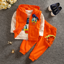 Kids Boys Clothes Sets Baby Boy Clothing Set Children Sport Suit Cotton Cartton Toddler Tracksuit Fall