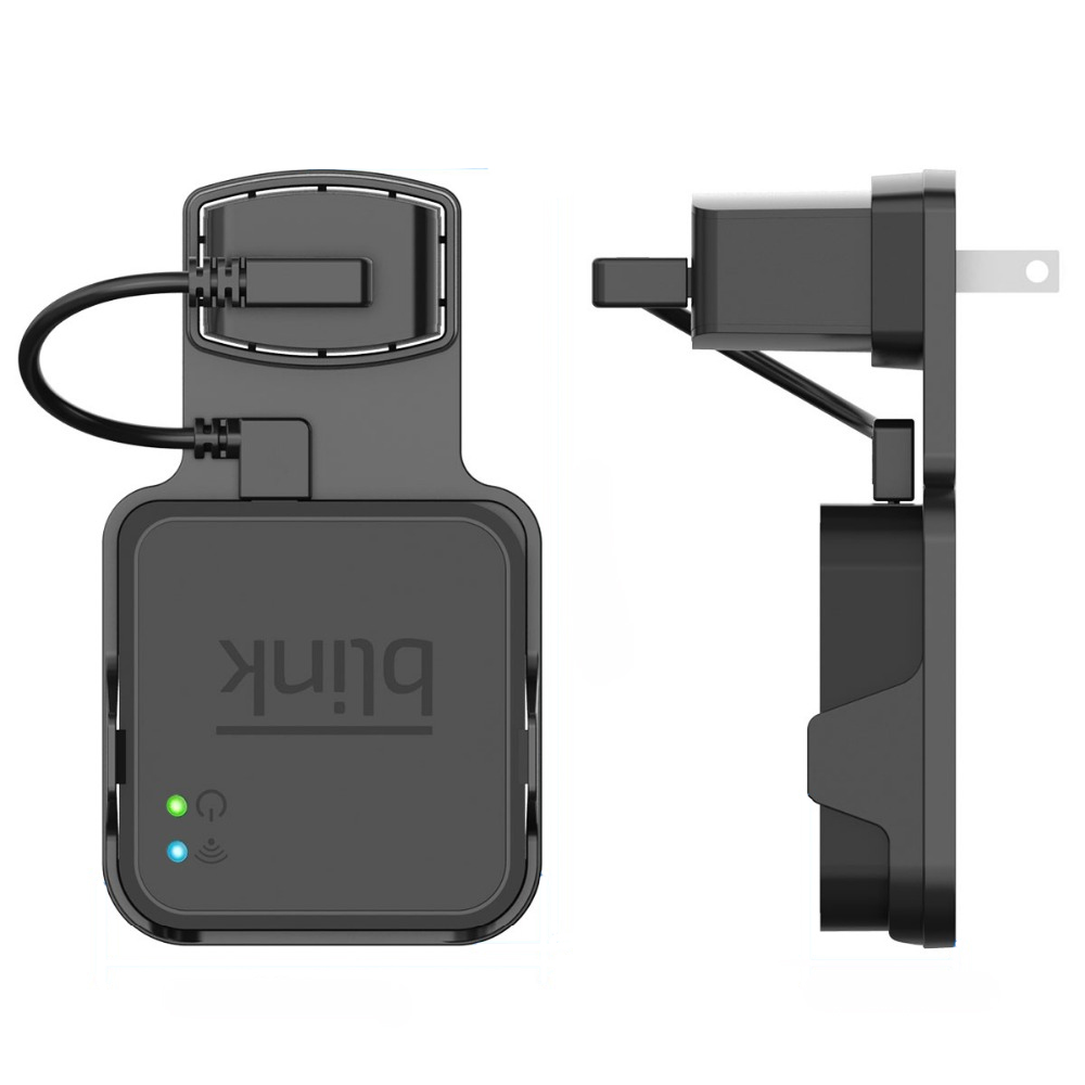 Outlet Wall Mount for Blink Sync Module with Cables for Blink XT Outdoor and Indoor Home Security Camera Accessories image