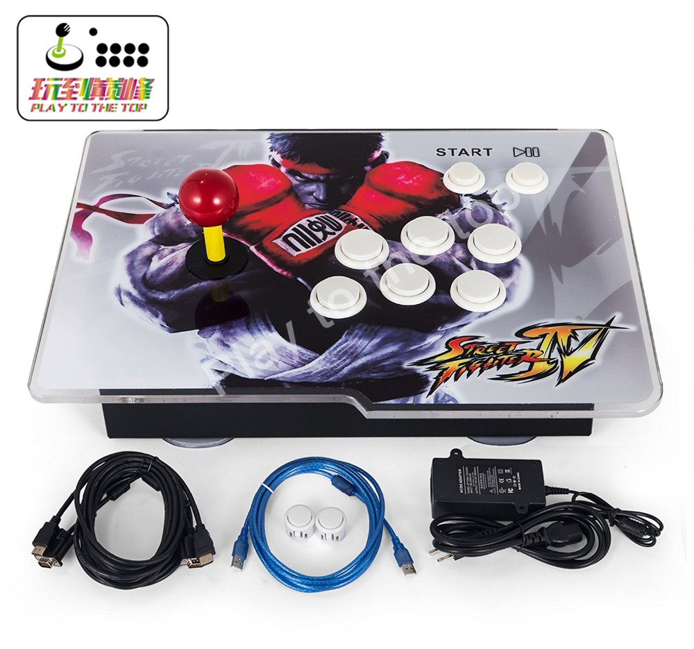 Arcade Game Console 1388 Classic Video Game 1 Player Home Arcade Console with HDMI VGA USB for TV PC Retro Arcade Console