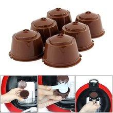 1pcs máquina de café cápsula reutilizável copo de café filtro para nescafe recarregável suporte de copo de café pod filtro para dolce gusto