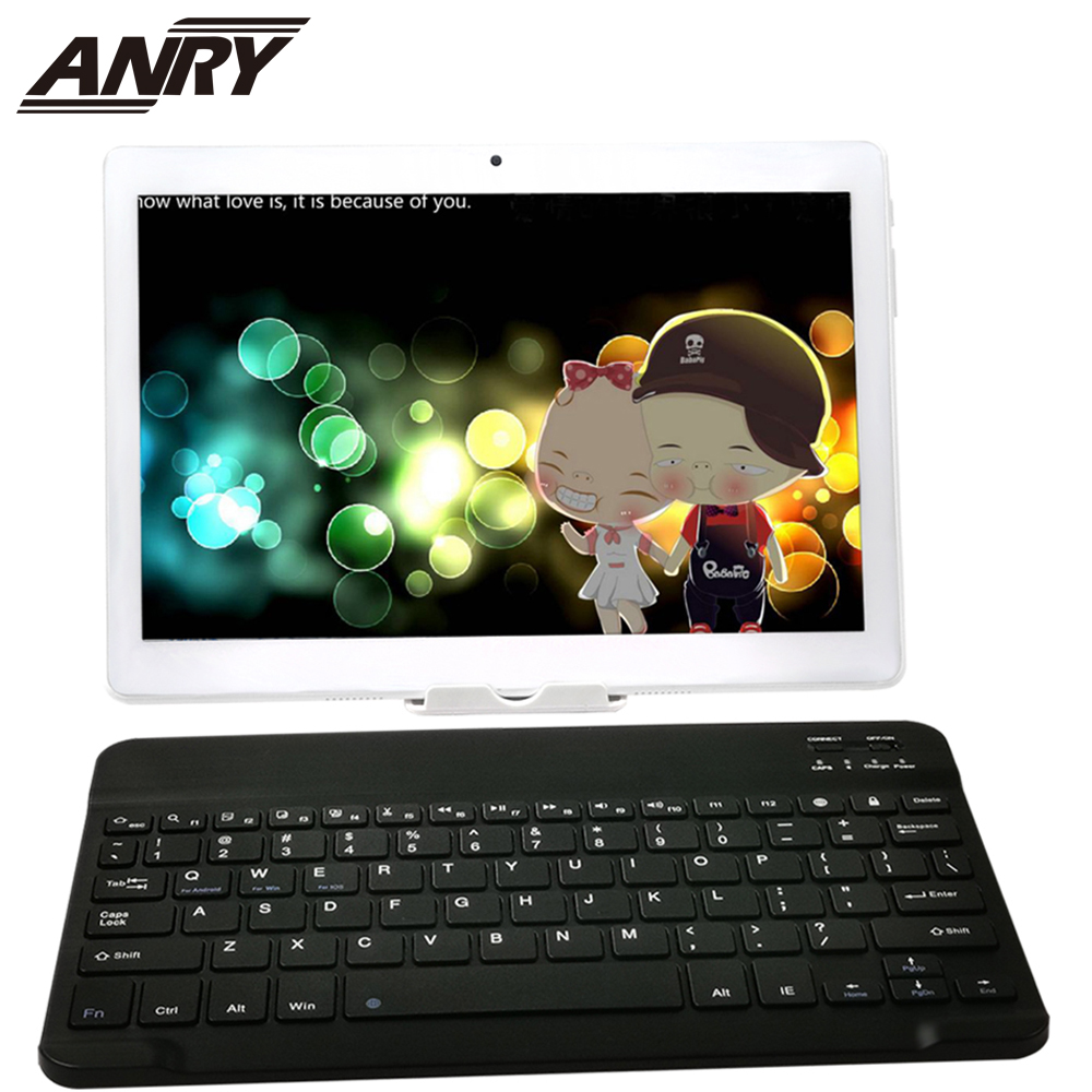 ANRY Kids/Children Tablet 10 Inch Dual Sim Card 4G Phone Call Octa Core 1280x800 IPS 4GB RAM 64GB Tablet ROM With Free Foothold