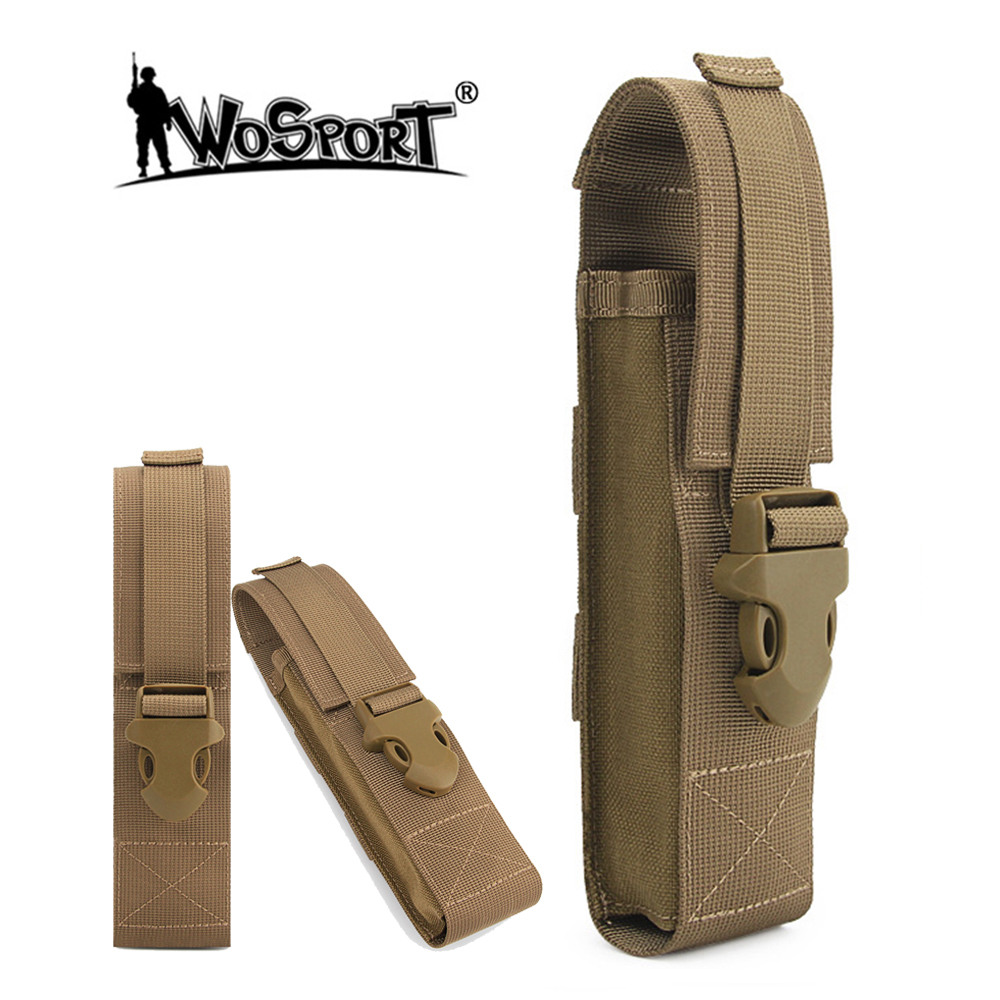 Tactical Shoulder Strap Sundries Bags Multi-function Flashlight Accessory Kit Flashlight Pouch Molle Outdoor Camping EDC Kits