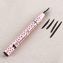 Cute New Style Waterproof Make Up Cosmetic Beauty Makeup Black Eyeliner Long-lasting Liquid Eye Liner Pencil  Eye Liner  Pen все цены