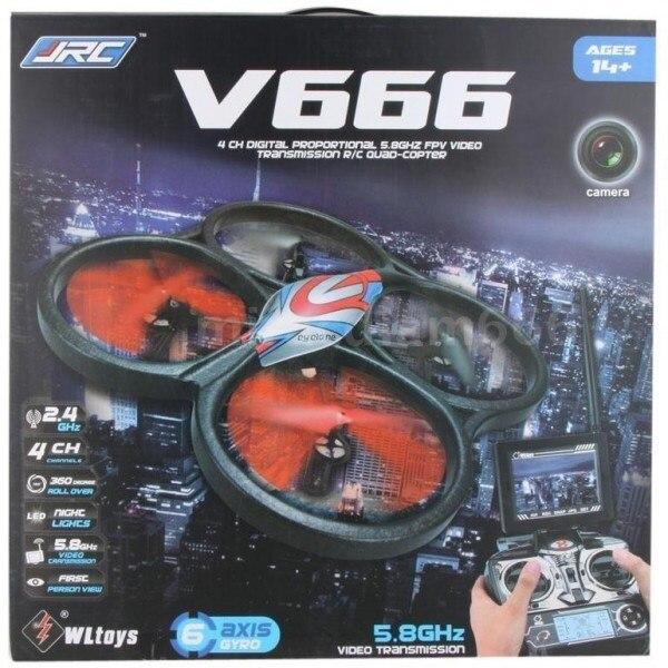 квадрокоптер WLToys V666N FPV Camera UFO Barometer Sensor 2.4G - V666N игрушка на Новый год
