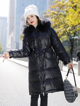 Women Down Cotton Long Jacket  Winter Coat Fashion Elegant Boutique Women Clothing 2020 New Joriginal Ladies Coats and Jackets women jackets winter coats long sleeve fashion lapel zipper patchwork jacket outerwear female short elegant ladies clothing tops